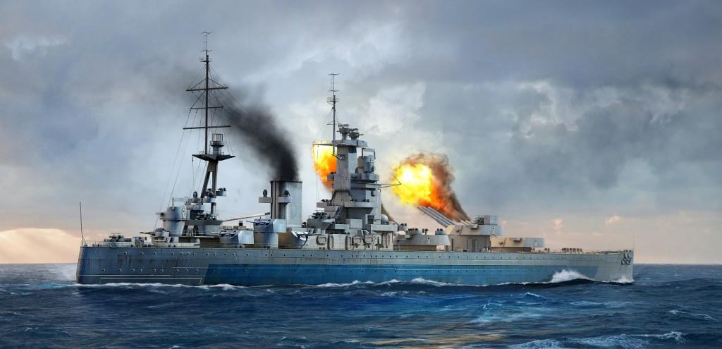 06717 1/700 イギリス海軍戦艦 HMS ネルソン 1944 ¥6,800(税抜価格)