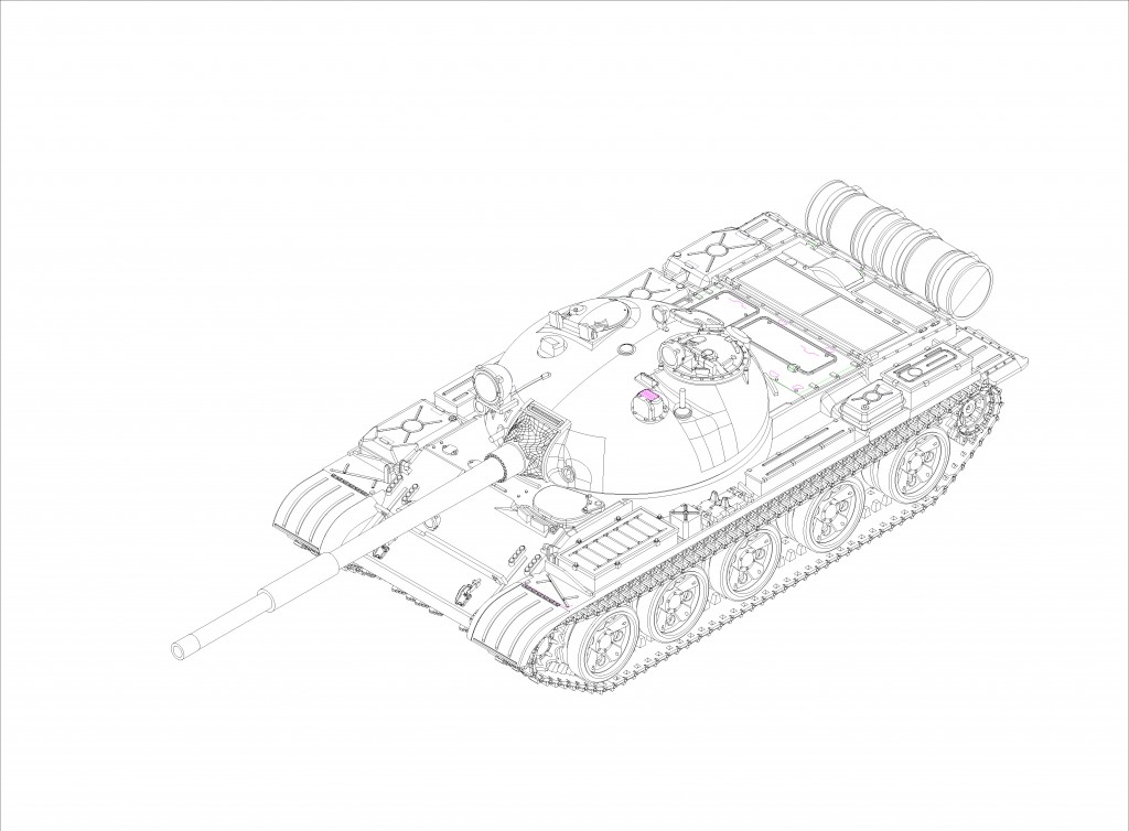 07146 1/72 ソビエト軍 T-62 主力戦車 1962年型 ¥2,400(税抜価格)