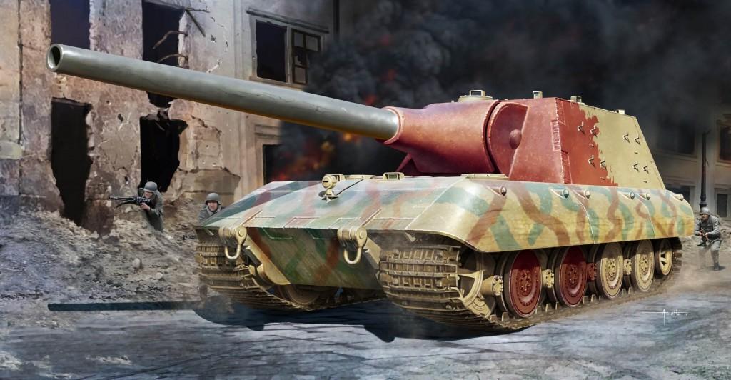 09542 1/35 E-100重駆逐戦車 ¥5,800(税抜価格)