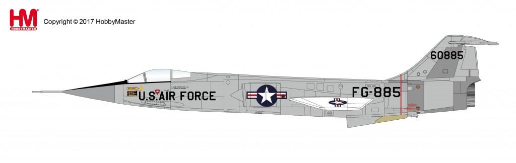 """HA1039 1/72 F-104C スターファイター """"世界高度記録機"""" ¥8,200(税抜価格)"""