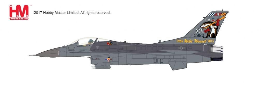 """HA3849 1/72 F-16C ブロック50 """"ワイルド・ウィーゼル任務50周年記念塗装"""" ¥10,800(税抜価格)"""