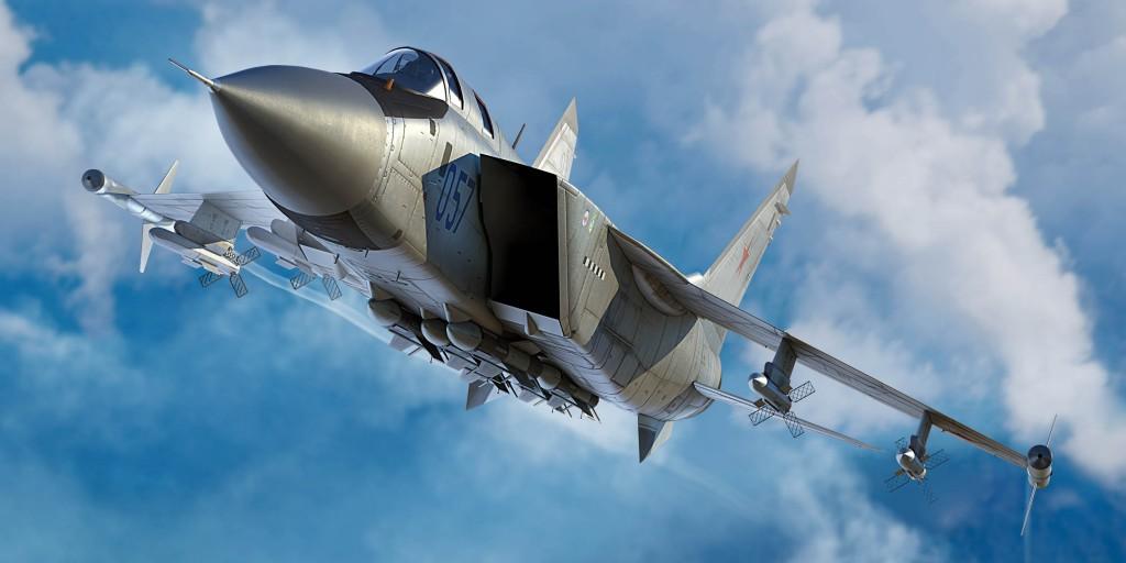01681 1/72 MiG-31M フォックスハウンド ¥7,000(税抜価格)