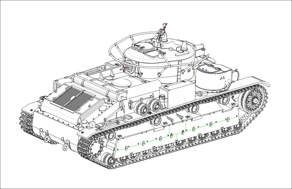 07150 1/72 ソビエト軍 T-28多砲塔戦車(溶接仕様)¥2,400(税抜価格)