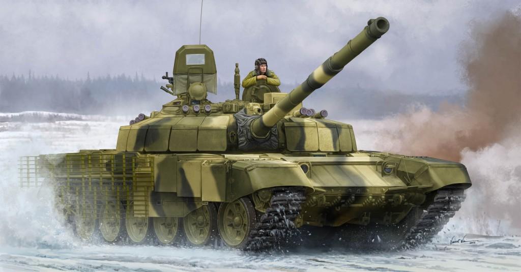"""09507 1/35 ロシア連邦軍 T-72B2主力戦車 """"ロガートカ"""" ¥9,800(税抜価格)"""