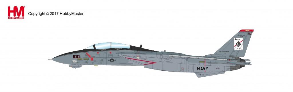 """HA5217 1/72 F-14A トムキャット 第41戦闘飛行隊""""ブラックエイセス"""" ¥16,800(税抜価格)"""
