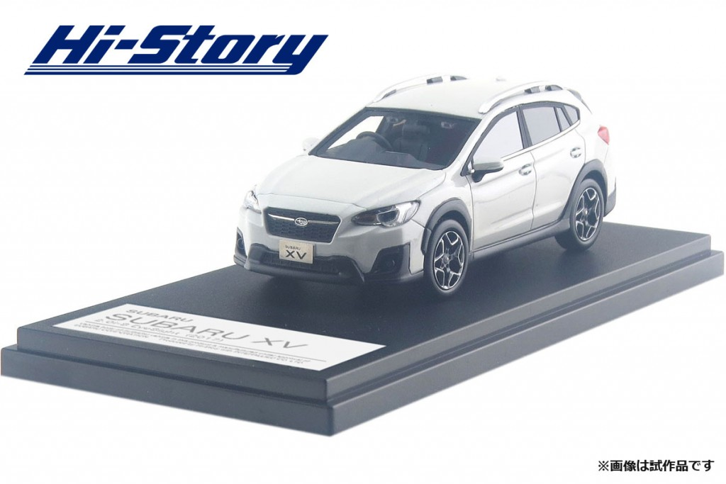 HS203WH 1/43 SUBARU XV 2.0i-S EyeSight (2017) クリスタルホワイト・パール ¥9,200(税抜価格)