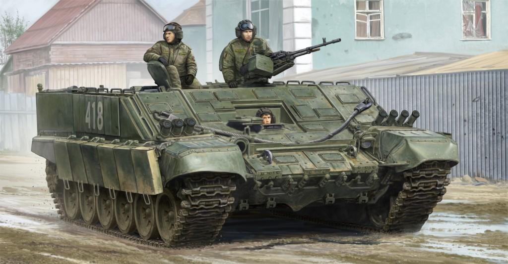 09549 1/35 ロシア連邦軍 BMO-T重装甲兵員輸送車 ¥8,800(税抜価格)