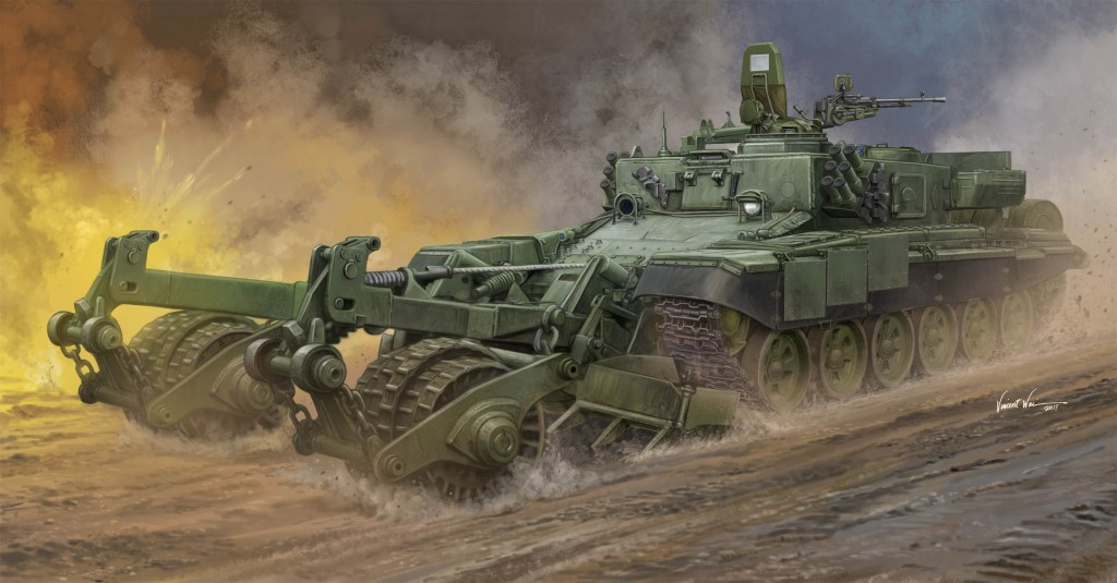 09552 1/35 ロシア連邦軍 BMR-3 地雷処理戦車 ¥9,800(税抜価格)