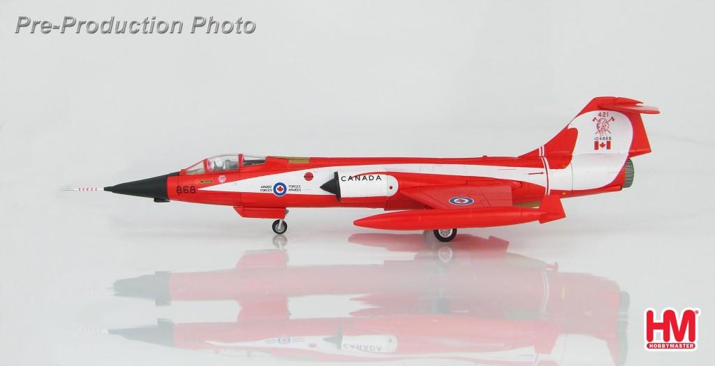 """HA1037 1/72 CF-104 スターファイター """"カナダ空軍 コーク・ボトル"""" ¥9,800(税抜価格)"""