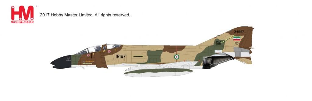 "HA1999 1/72 F-4D ファントムⅡ ""イラン・イスラム共和国空軍"" ¥12,800(税抜価格)"