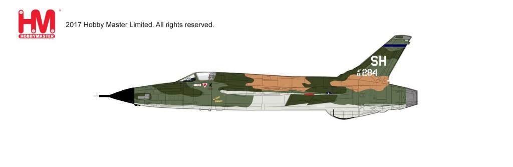 """HA2516 1/72 F-105D サンダーチーフ """"トリプル・ミグ・キラー"""" ¥12,800(税抜価格)"""