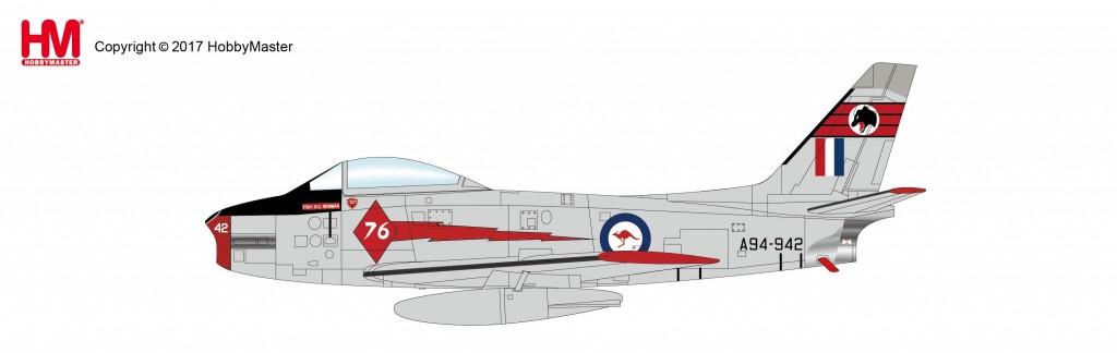 "HA4316 1/72 エイヴォン・セイバー Mk.31 ""レッドダイヤモンズ"" ¥8,200(税抜価格)"