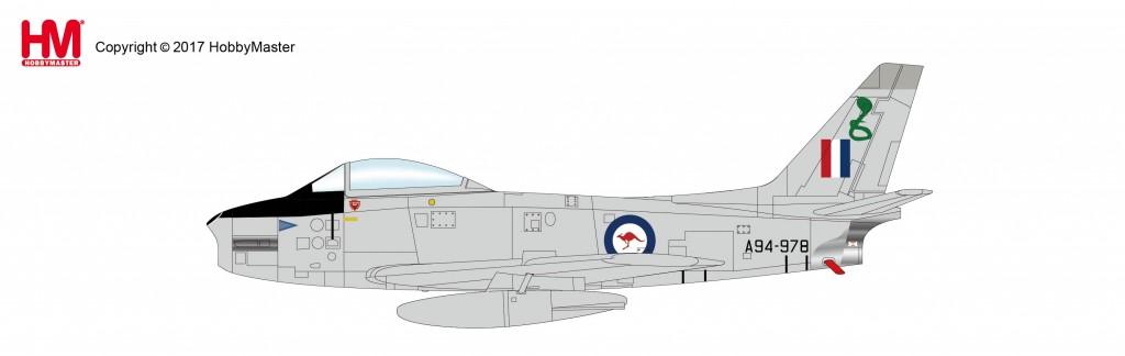 "HA4317 1/72 エイヴォン・セイバー Mk.32 ""オーストラリア空軍"" ¥8,200(税抜価格)"