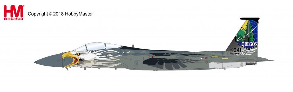 "HA4559 1/72 F-15C イーグル ""オレゴンANG 75周年記念塗装"""