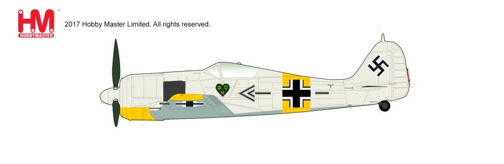 """HA7422 1/48 Fw190 A-4 フォッケウルフ """"ハンネス・トラウトロフト"""" ¥10,800(税抜価格)"""