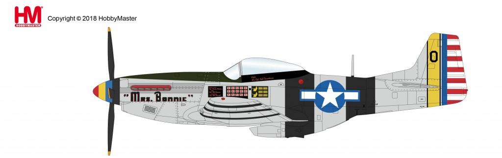 "HA7738 1/48 P-51Kマスタング ""ミス・ボニー"" ¥11,800(税抜価格)"