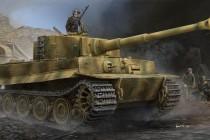 09540 1/35 VI号戦車 ティーガーⅠ後期生産型 ¥4,800(税抜価格)