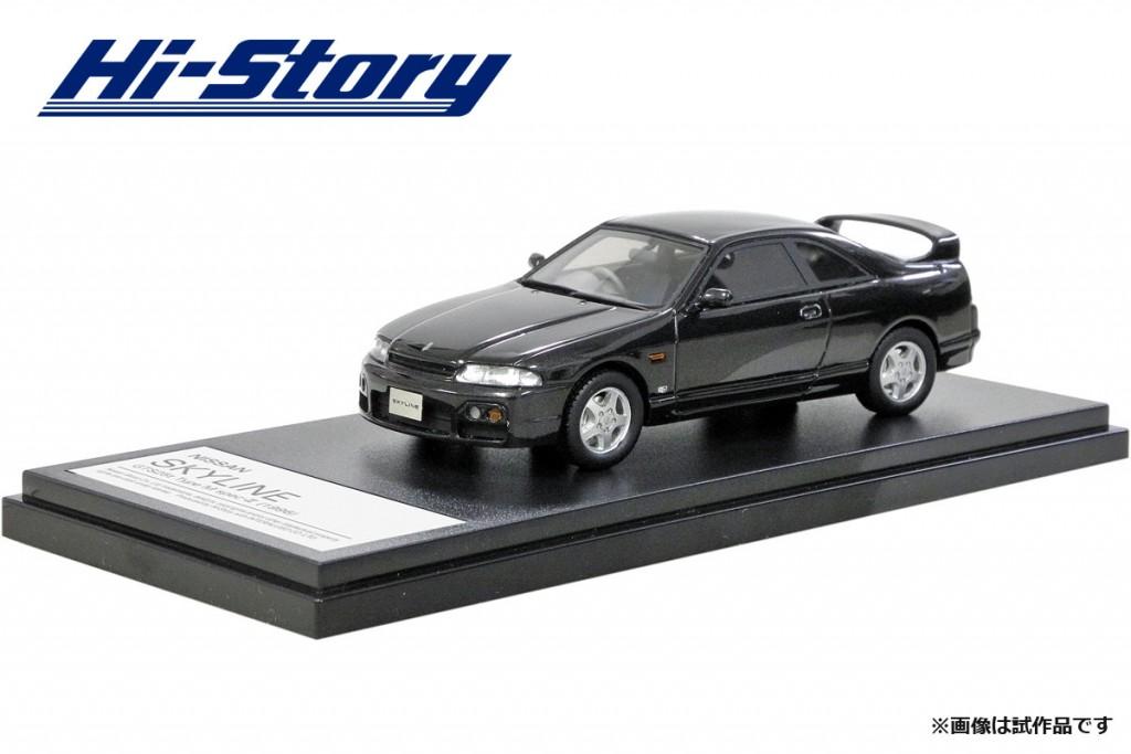 HS200GY 1/43 NISSAN SKYLINE GTS25t Type M specII (1996) ダークグレーパール ¥8,800(税抜価格)