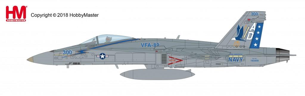 "HA3539 1/72 F/A-18C ホーネット ""VFA-82 CAG"" ¥11,800(税抜価格)"