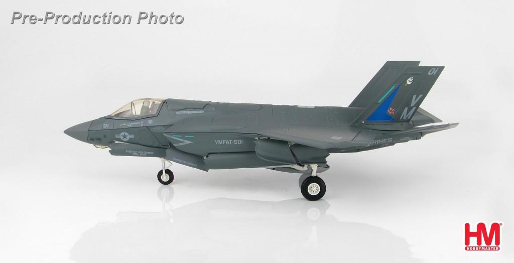 """HA4606 1/72 F-35B ライトニングⅡ """"VMFAT-501"""" ¥11,800(税抜価格)"""