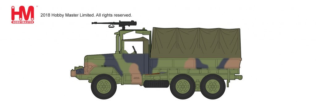 "HG5703 1/72 M35 2.5tトラック ""M2ブローニング"" ¥4,200(税抜価格)"