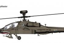 "HH1201 1/72 AH-64D アパッチ・ロングボウ ""フライングタイガース"" ¥11,800(税抜価格)"