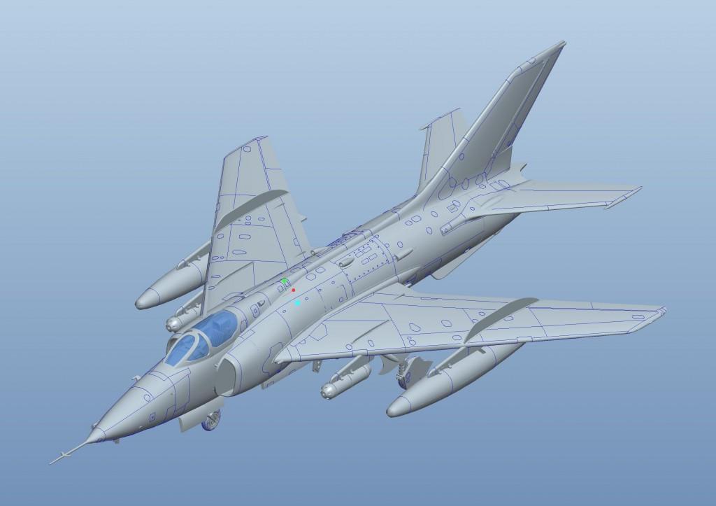 01684 1/72 中国空軍 ファンタン Q-5攻撃機 ¥3,800(税抜価格)