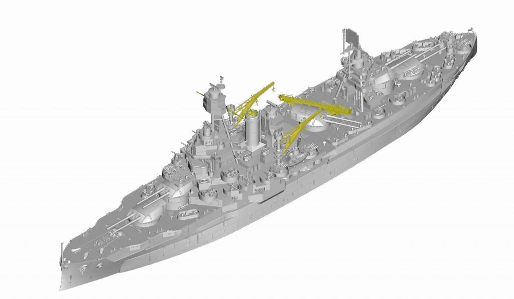 06712 1/700 アメリカ海軍戦艦 BB-35 テキサス ¥5,800(税抜価格)