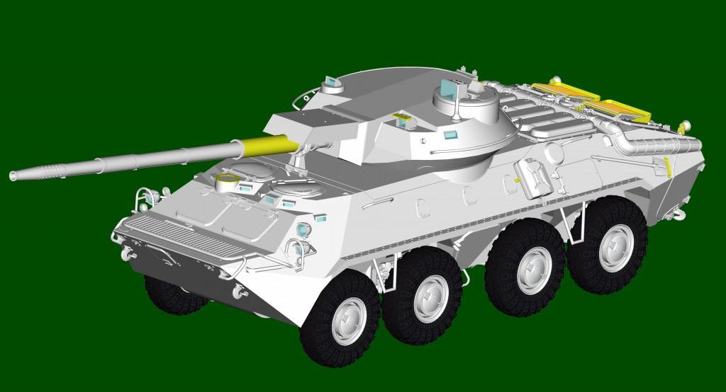 09536 ソビエト軍 2S14 対戦車自走砲 ¥7,800(税抜価格)
