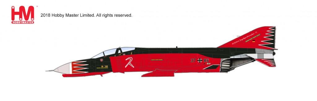 """HA19001 1/72 F-4F ファントムⅡ """"JG71 リヒトフォーヘン 1999"""" ¥11,800(税抜価格)"""
