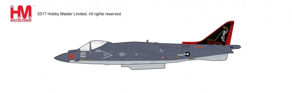 """HA2622 1/72 AV-8B ハリアー2プラス """"VMA-311"""" ¥10,800(税抜価格)"""