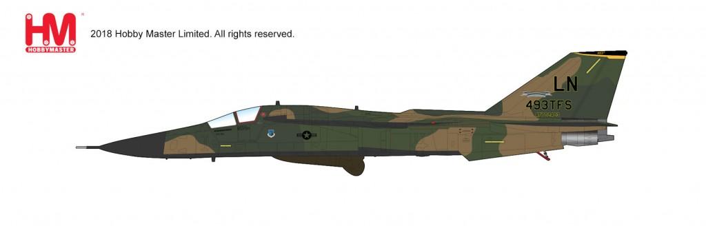 """HA3019 1/72 F-111F アードバーク """"第493戦闘飛行隊"""" ¥13,800(税抜価格)"""