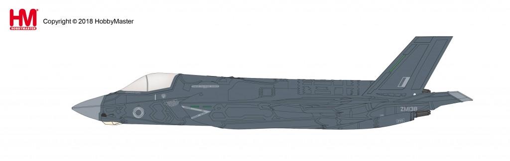 """HA4607 1/72 F-35B ライトニングⅡ """"イギリス空軍 ZM138"""" ¥11,800(税抜価格)"""