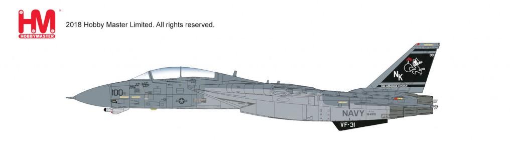 "HA5222 1/72 F-14D スーパートムキャット 第31戦闘攻撃飛行隊 ""イラクの自由作戦"" ¥17,800(税抜価格)"