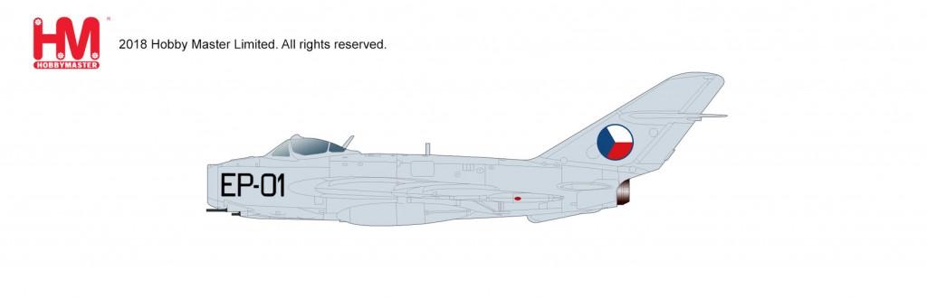 "HA5904 1/72 MiG-17F フレスコC ""チェコ・スロバキア空軍"" ¥10,800(税抜価格)"