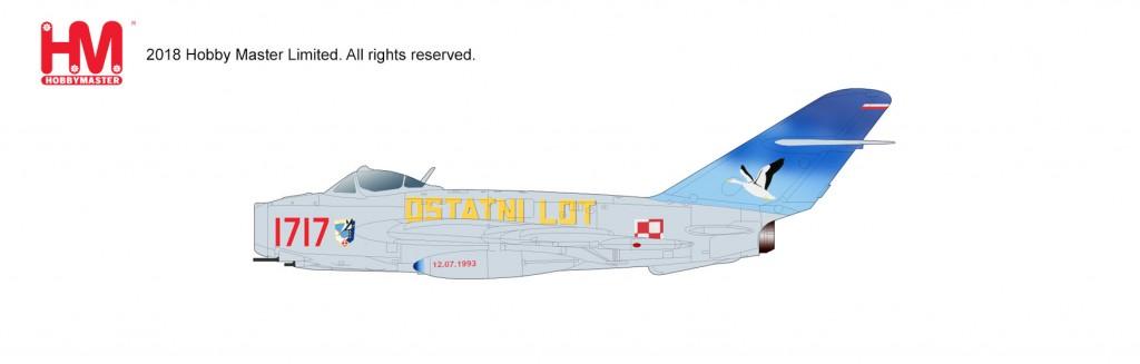 "HA5905 1/72 MiG-17F LIM-5 ""ポーランド空軍"" ¥10,800(税抜価格)"