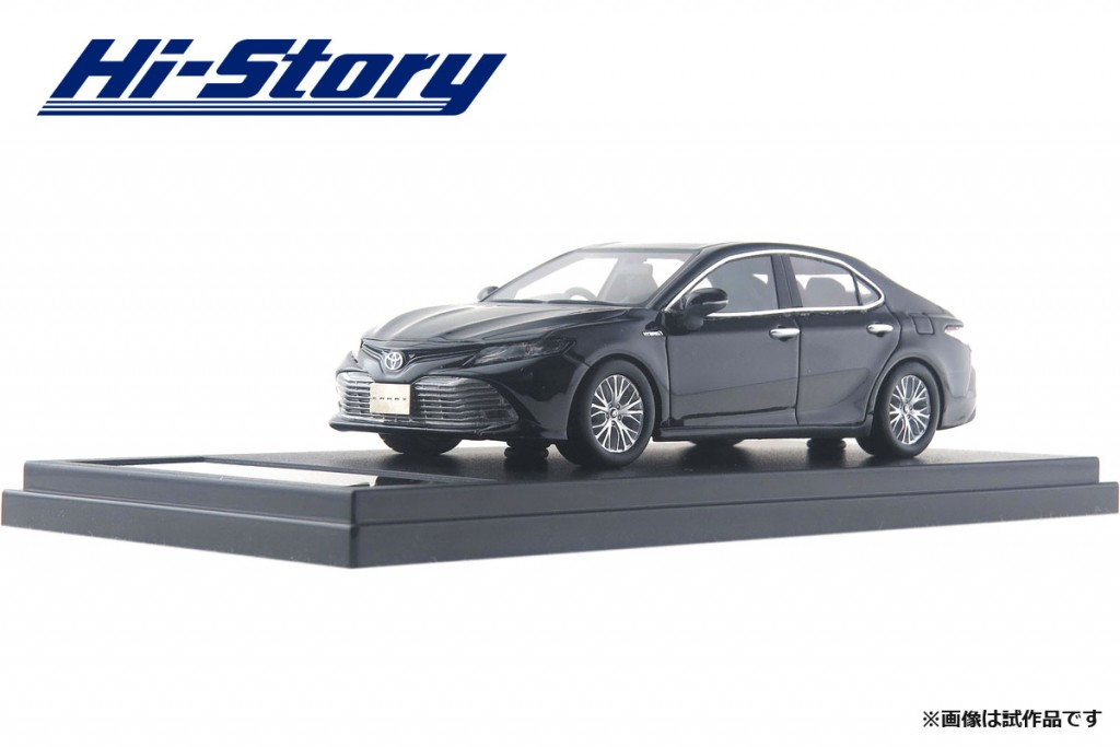 HS206BK 1/43 Toyota CAMRY G LEATHER PACKAGE (2017) アティチュードブラックマイカ ¥8,800(税抜価格)