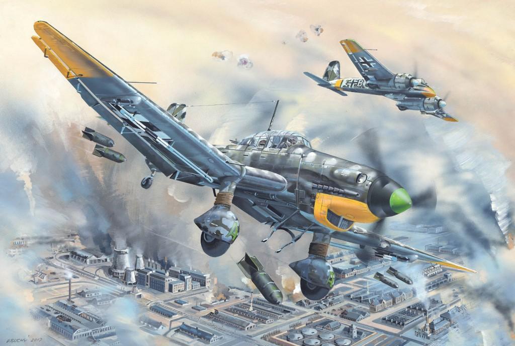 02424 1/24 Ju-87D-5 シュトゥーカ ¥16,800(税抜価格)