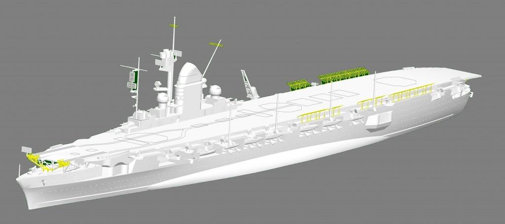 06710 1/700 ドイツ海軍 航空母艦 ペーター・シュトラッサー ¥6,800(税抜価格)