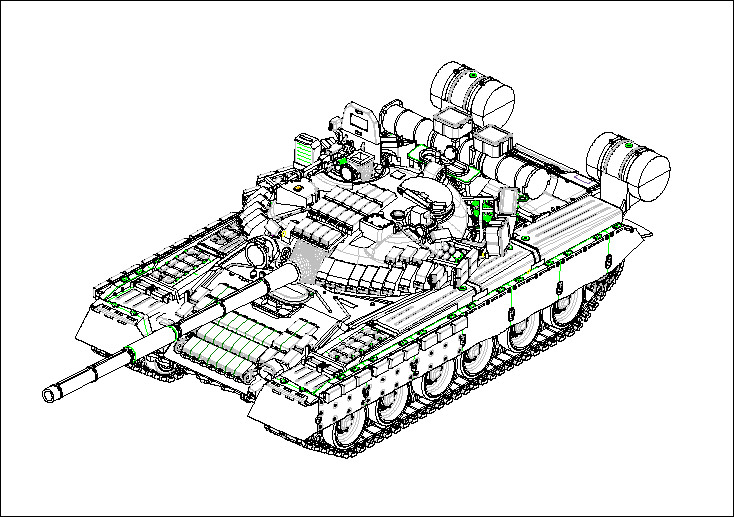 07145 1/72 ソビエト軍 T-80BV 主力戦車 ¥2,400(税抜価格)