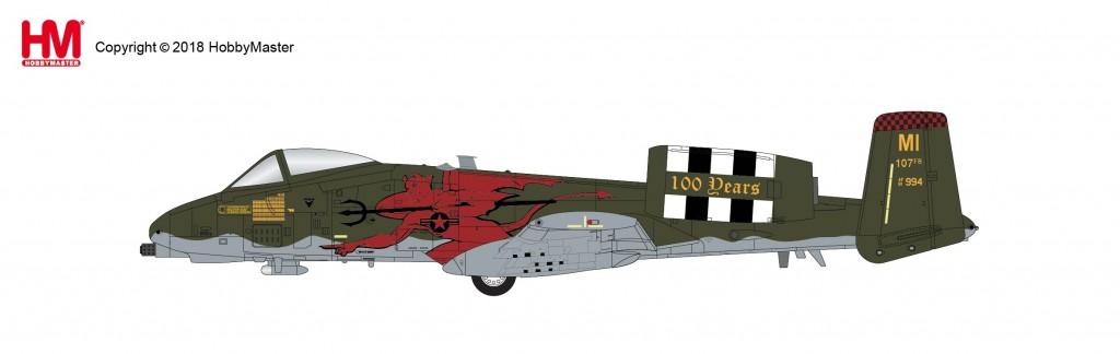 "HA1326 1/72 A-10C ウォートホッグ ""第107戦闘飛行隊 100周年記念塗装"" ¥12,800(税抜価格)"