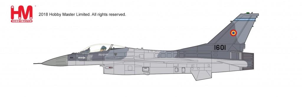 """HA3859 1/72 F-16AM """"ルーマニア空軍 2017"""" ¥10,800(税抜価格)"""