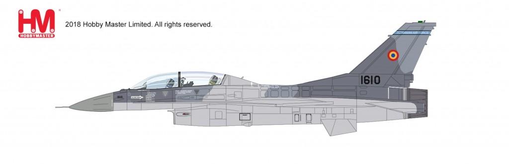 "HA3860 1/72 F-16BM ""ルーマニア空軍 2017"" ¥10,800(税抜価格)"
