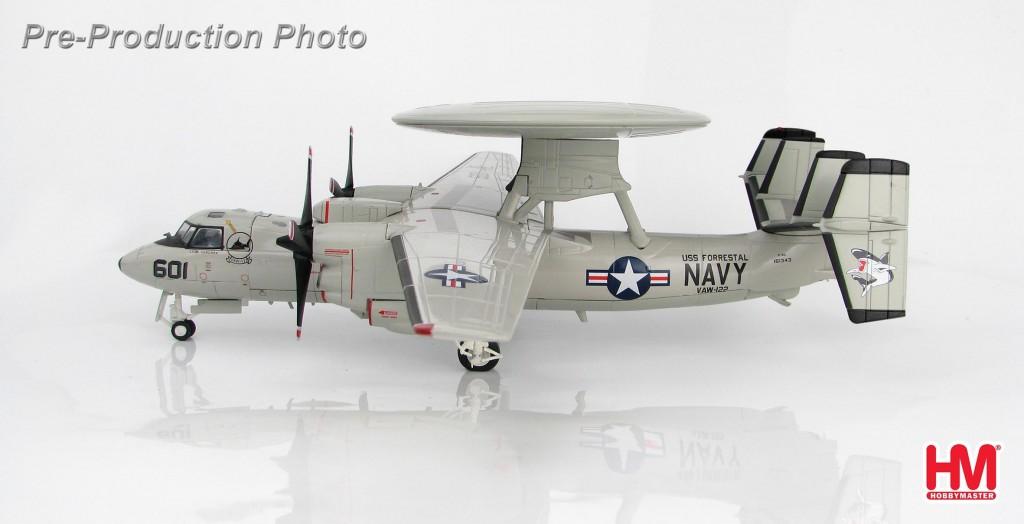 """HA4810 1/72 E-2C ホークアイ """"VAW-122 U.S.S.フォレスタル"""" ¥14,800(税抜価格)"""