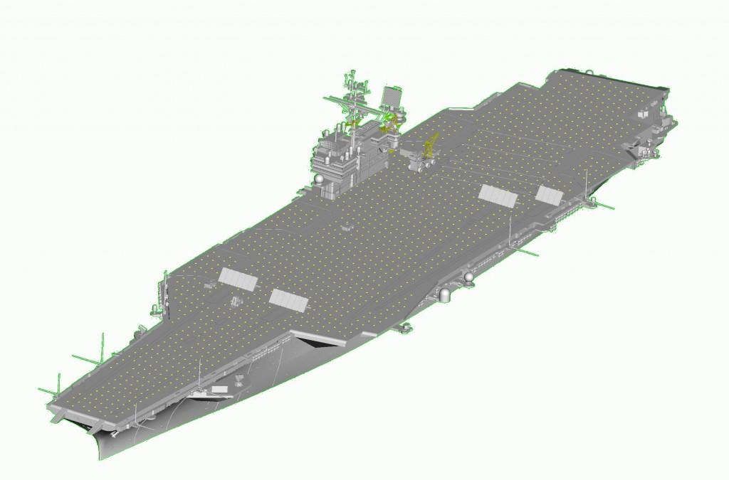 06714 1/700 アメリカ海軍 空母 CV-63 キティーホーク ¥9,800(税抜価格)