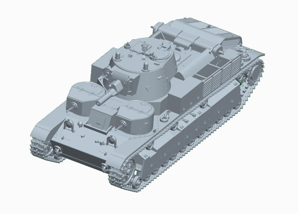 07151 1/72 ソビエト軍 T-28多砲塔戦車(リベット仕様) ¥2,400(税抜価格)