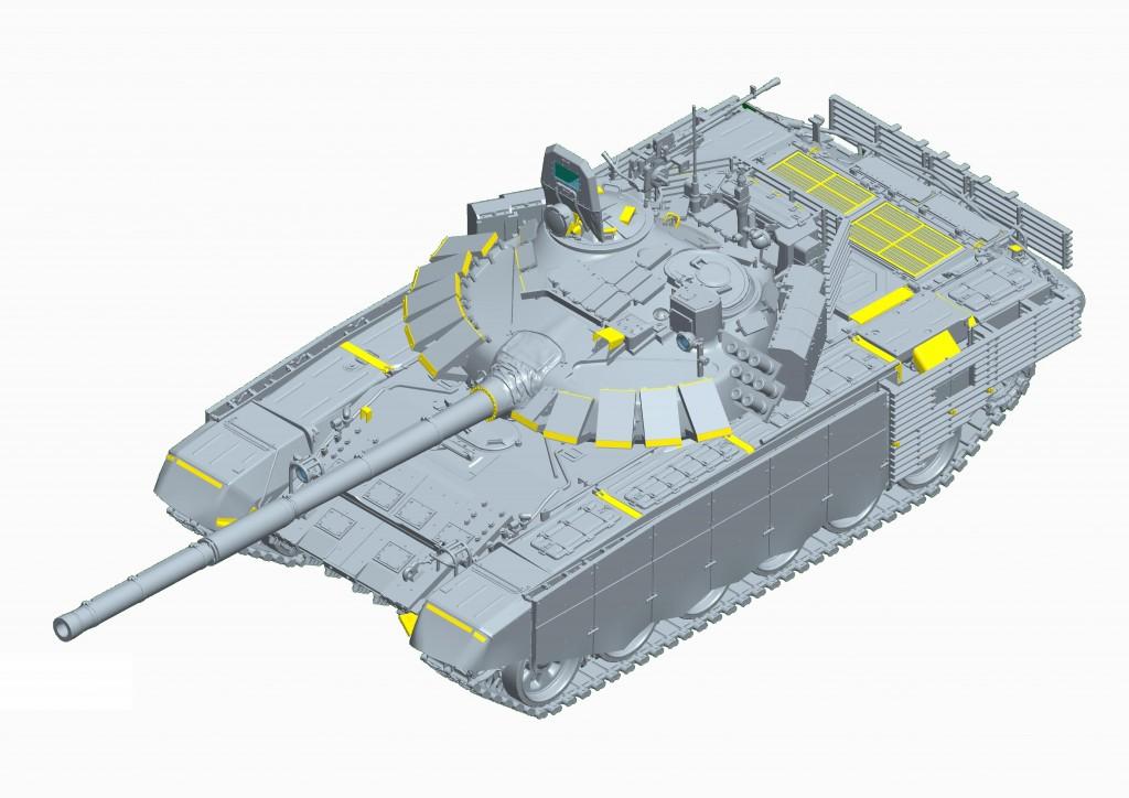 09561 1/35 ロシア連邦軍 T-72B3主力戦車 (Mod.2016) ¥9,800(税抜価格)