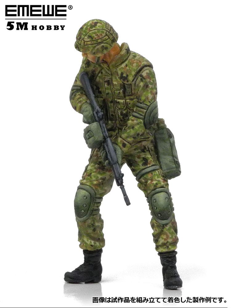 M30518 1/35 陸上自衛隊 普通科隊員 近接戦闘訓練D ¥2,000(税抜価格)