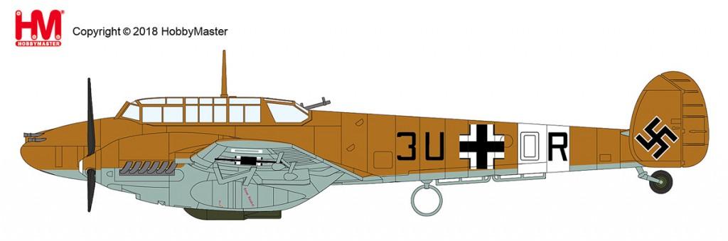 "HA1815 1/72 Bf-110 E-2/Trop ""リビア 1942"" ¥9,800(税抜価格)"