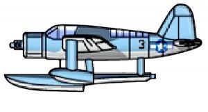 04201 1/200 アメリカ海軍艦載機 OS2U ¥1,500(税抜価格)